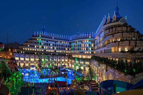 Crystal Sunset Luxury Resort Spa Side