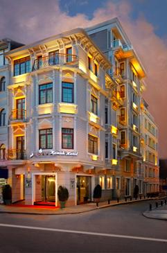 sv suites hotels taksim istanbul