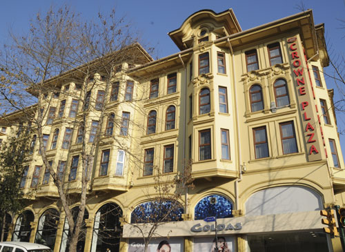 Wyndham stanbul old city old crown plaza istanbul for Laleli istanbul hotels