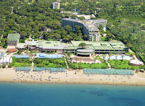 Hotel Aspendos Beach Side Homepage